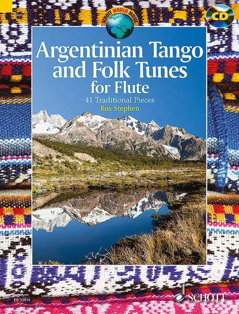 Argentinian Tango and folk tunes for flute image